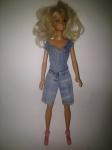 Джинсовый комплект с бриджами для куклы Барби (Б65)  Dutunka