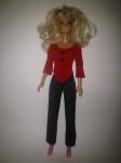 Брючный комплект для куклы Барби Красное и черное (Б46)  Dutunka