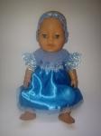 Нарядное платье для пупса-девочки Беби борн Золушка (ББ962) Dutunka