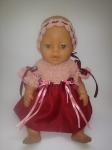 Бальное платье для пупса-девочки Беби Борн Черри Леди (ББ734) Dutunka