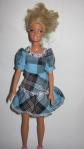 Платье для куклы Барби Голубое(Б54)нет в наличии Dutunka