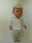Комплект одежды для пупса-мальчика Baby Born Летний стиль (ББ918)  Dutunka