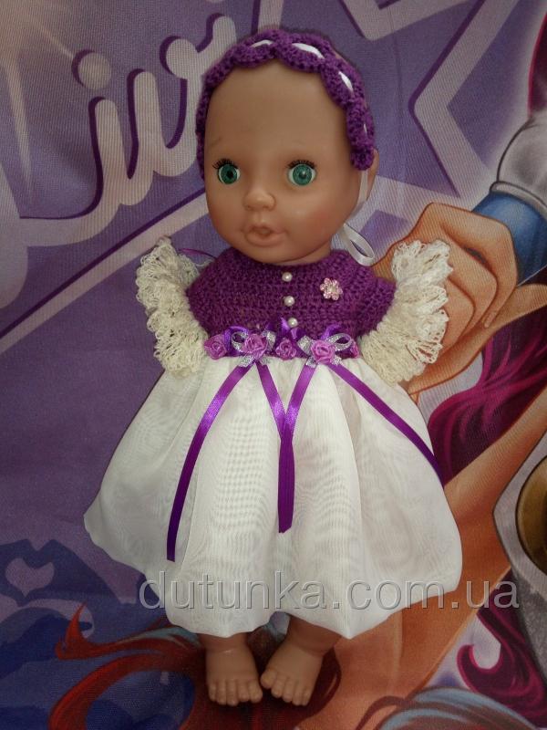 Бальное платье для пупса девочки Фиона (К38-215) Dutunka
