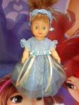 Бальное платье для куколки Золушка (R80) Dutunka