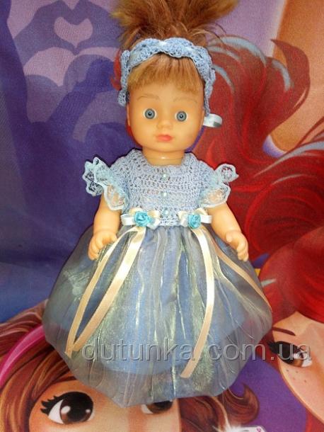 Бальное платье для куколки Золушка (R80)бронь Dutunka