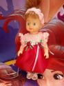 Нарядное платье для куколки ростом 28-30 см Сказочное (2 вида) (R82) Dutunka
