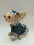 Платье-кардиган для интерактивной собачки Чи Чи Лав Джинсовая мечта (ЧЧЛ131) Dutunka