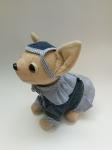 Платье с кепочкой для интерактивной собачки Чи Чи Лав C пелеринкой (ЧЧЛ132) Dutunka