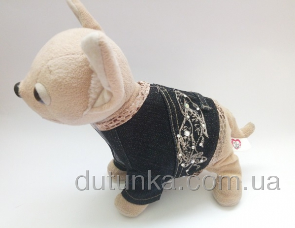 Джинсовый пиджак для интерактивной собачки Chi Chi Love (ЧЧЛ138) Dutunka