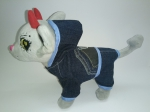 Джинсовый комплект для собачки Чи чи лав  Модный джинс(Ч400) Dutunka