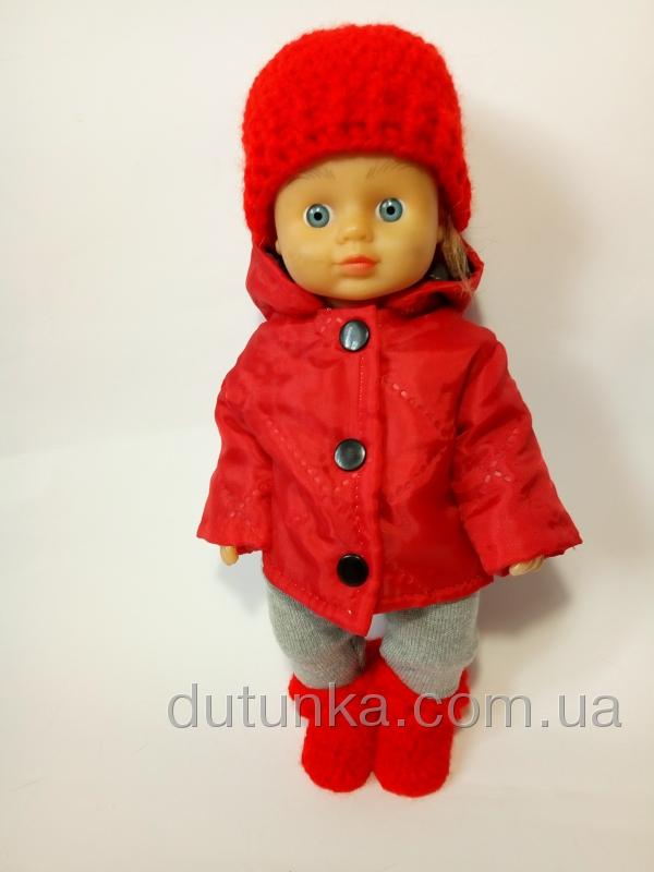 Комплект зимней верхней одежды Красный (R104)бронь Dutunka