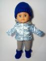Комплект теплой одежды для куколки Зимняя сказка (К32-67) Dutunka