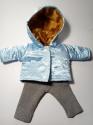 Комплект теплой одежды для пупса 32 см Зимняя сказка2 (К32-68) Dutunka