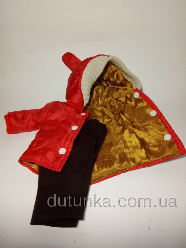 Комплект одежды для пупса 38 см Зайчик (К8-241) Dutunka