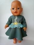 Платье нарядное Воланж (ББ482) Dutunka