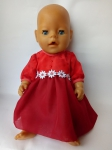 Летнее платье для куклы Беби борн Конфетка (ББ784) Dutunka