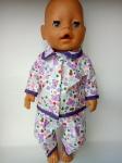 Кукольная пижама для пупса-девочки Baby Born Мишутки(ББ930) Dutunka