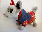 Платье с капюшоном для собачки Чи Чи Лав Модница (Ч357) Dutunka