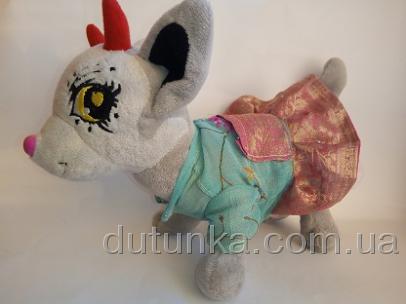 Платье нежное для собачки Чи Чи Лав Королевское (Ч186) Dutunka