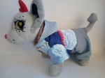 Теплый зимний комплект для собачки Chi Chi Love  Облачко (Ч365)нет в наличии Dutunka