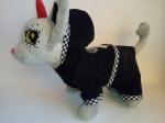 Вельветовый костюмчик для собачки Чи-чи лав Бантик(Ч392) Dutunka