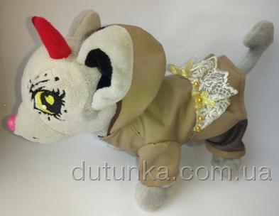 Комплект для собачки-девочки Горчичное (Ч298) Dutunka