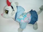 Платье джинсовое нарядное для собачки Chi Chi Love  (Ч274) Dutunka