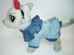 Джинсовое платье для собачки Голубая сказка (Ч278) Dutunka