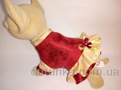 Платье нарядное для  интерактивной собачки Чи Чи Лав Вишенка (ЧЧЛ78) Dutunka