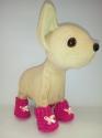 Ботиночки для собачки Чи Чи Лав Пинк Dutunka