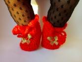 Вязаные ботиночки для пупса Беби Бон в ассортименте Радуга (ББ915) Dutunka