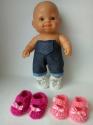 Теплые туфельки-полуботиночки для куколки Топитопики Dutunka
