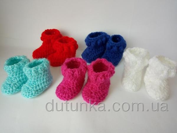 Зимние сапожки для куколки ростом 28 см (R105) Dutunka