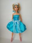 Платье бальное для куклы Барби Нежность (Б33) Dutunka