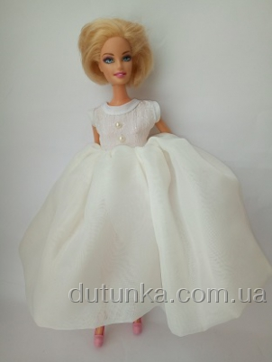Платье бальное для куклы Барби Летучая мышь (Б247) Dutunka
