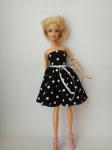 Платье для куклы Барби Темная ночь(Б222) Dutunka
