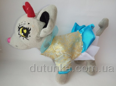 Платье  для собачки Чи Чи Лав Небесное  (Ч284) Dutunka