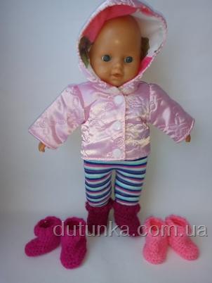 Комплект одежды для пупса 32 см Розочка (К32-4) Dutunka