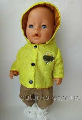 Курточка пупса Беби Борн со слоненком  (ББ894) Dutunka