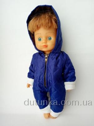 Комбинезон для куколки Синий (R106) Dutunka