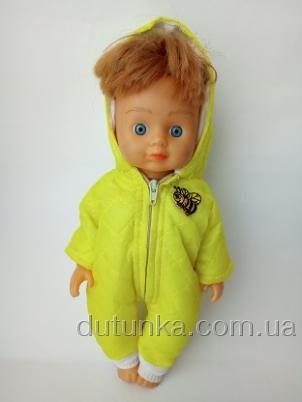 Комбинезон для куколки Пчелка (R104) Dutunka