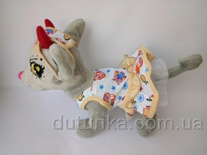 Платье нарядное для собачки Модняшка (Ч383) Dutunka