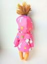 Плащ для куколки Розовый (К28-2) Dutunka