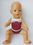 Комплект кукольного белья для  Беби бон Кружевная радуга в ассортименте (ББ981)  Dutunka