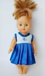 Летнее платье для куколки 28 см (К28-8) Dutunka