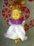 Бальное платье для куколки  Фиона (К28-14) Dutunka