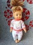 Пижамка для куколки 28 см Мишутки (К28-13) Dutunka