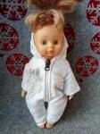Комбинезон для куколки 28 см Снежок  (К28-11) Dutunka