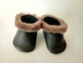 Зимние ботиночки с мехом для пупса Беби борн (ББ700) Dutunka