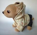 Пальто с капюшоном для собачки Чи чи лав (ЧЧЛ111) Dutunka